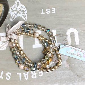 Lonna&Lilly Gold-Tone 3-Pc. Bracelet Set